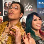 PIKOTARO  meets ASUKA(WWE)!!