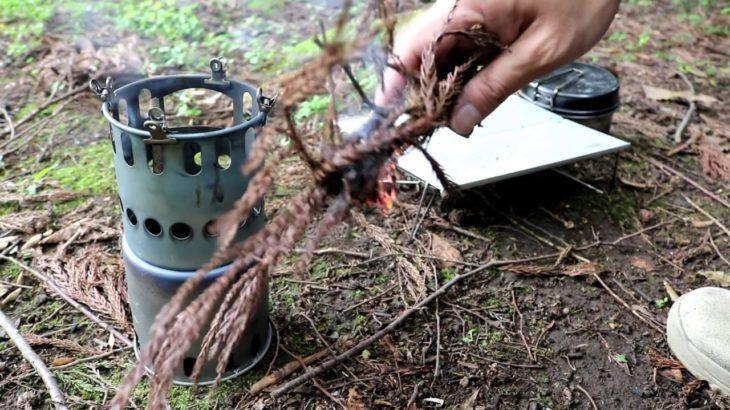 忙しくてキャンプに行けないから、昼飯だけ食べに野へ