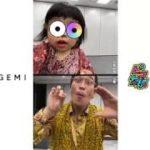 PPAP(Pen-Pineapple-Apple-Pen)/PIKOTARO(ピコ太郎)&Mr. Kosaka's daughter