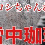 雪中珈琲 〜テントを開けたら雪だった〜