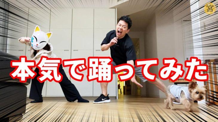宮迫夫婦withベリーちゃん クラップダンス踊ってみた