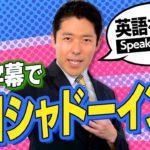【英語を話す②】中田の結論は英語字幕つきの会話動画をシャドーイング