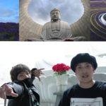 【札幌二人旅part2】チャラ男が神秘の頭大仏を突撃!そのスケールの大きさに度肝を抜かす!