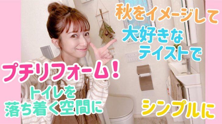 【プチリニューアル】トイレを落ち着く空間にアレンジしてみた
