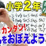 小2算数「おっぱっぴー式 九九」①