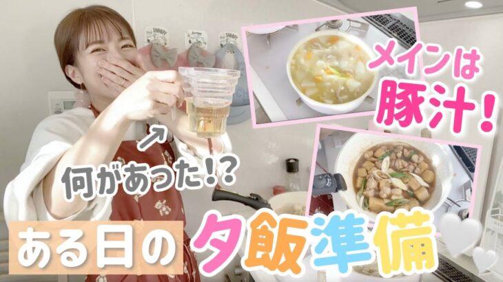 【豚汁の作り方】ある日のリアルな夕飯準備を撮影してみました!【ザ・てきとー!】