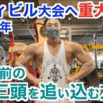 【大会への道#1】東京ノービスボディビル大会に向けてついに始動⁉︎ 5週間前の肩&上腕三頭筋を追い込む方法です。