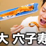 待望の巨大穴子寿司が登場! せいや美味すぎる茶碗蒸しの味に思わず…【霜降り明星】